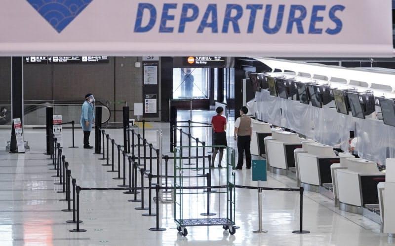 渡航中止、10月以降段階的解除 相手国の入国緩和促す