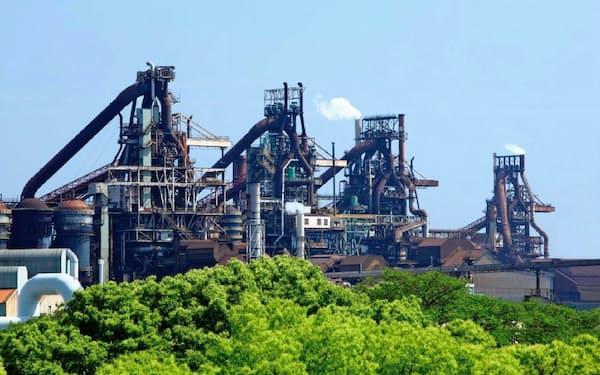 10月以降は生産が回復に向かう見通し(JFEの西日本製鉄所福山地区)