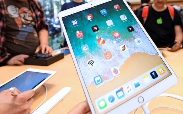 コロナ禍で在宅勤務や遠隔授業が広がり、アップル製品の販売が増えている