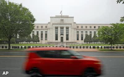 FRBは超低金利の長期化に直面する可能性が高い(ワシントン)=AP