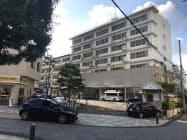 再開発される寿泉堂綜合病院の旧病棟(福島県郡山市)