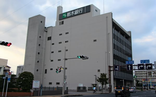 宇都宮市の栃木銀行本店