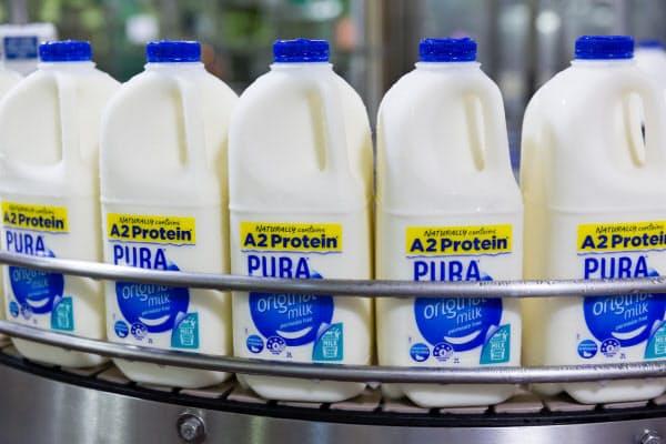 ライオン飲料の牛乳「ピューラ」