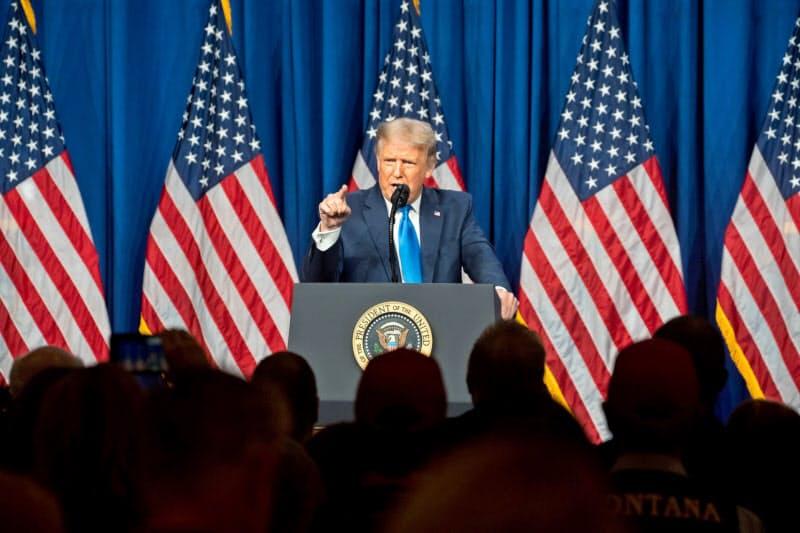 米共和党はトランプ米大統領の影響力が強まる=ロイター