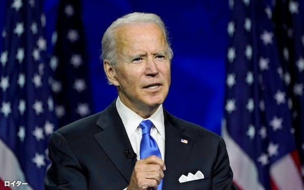 民主党のバイデン氏が米大統領選で勝てば、金価格を押し上げとの見方も(8月20日、デラウェア州)=ロイター