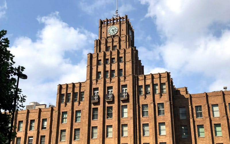 指定都市市長会の事務局が入る市政会館(東京・千代田)