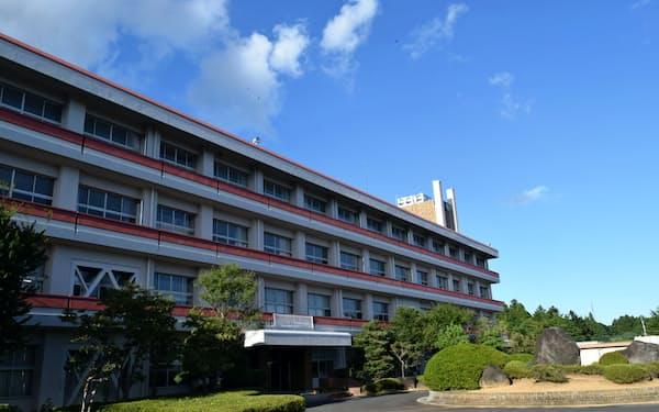 友部高校は情報化に対応したIT専科高校に改編する(笠間市)