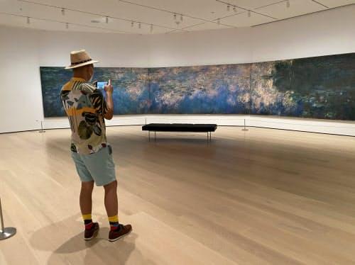 MoMAは入場を制限し、混雑なしに名画を楽しめた