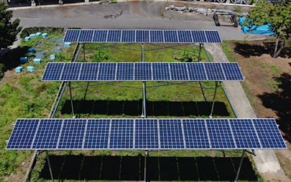 ウエストHDが運用する太陽光発電設備