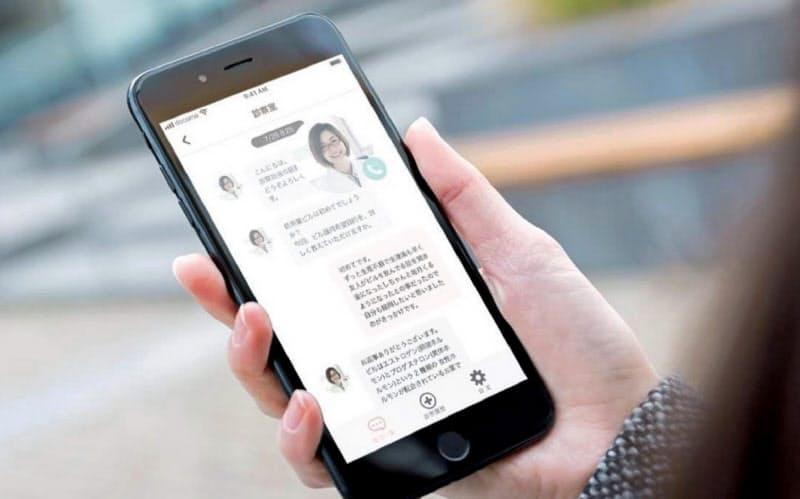「J-Startup KANSAI」の対象企業に選定されたネクストイノベーション(大阪市)は婦人科系のオンライン診察アプリ「スマルナ」を提供する