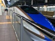 北陸新幹線(金沢駅)