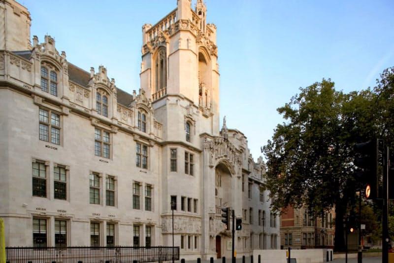英国の最高裁判所(ホームページより)