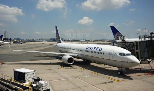 ユナイテッド航空、米国内線の変更手数料撤廃 大手初