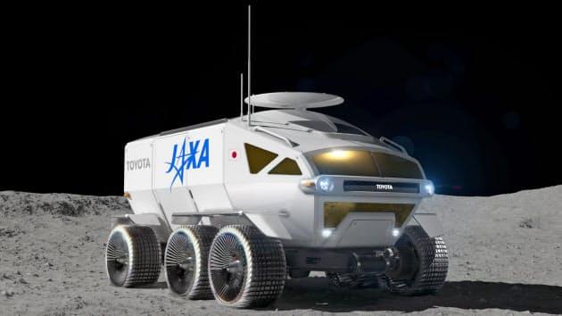 トヨタとJAXAの月面探査車、愛称「ルナ・クルーザー」