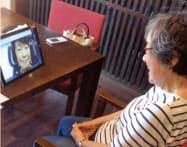 ネオラボのウェブ会議システム「コーリング」。3施設で試験展開する(写真はネオキャリア提供)
