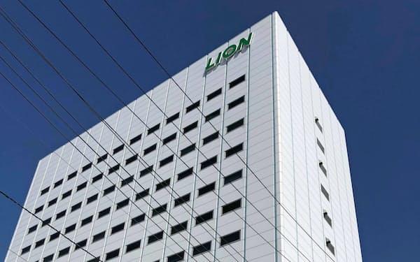 ライオンは23年春に本社を移転し、都内4カ所の拠点を集約する(現在の本社、東京・墨田)