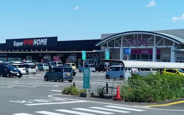LIXILビバは九州で、イオンの売り場への出店を増やしている(佐賀市)