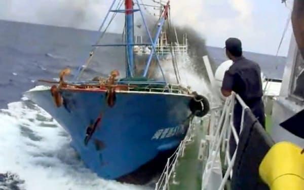 動画サイト「ユーチューブ」に投稿された中国漁船衝突事件の映像
