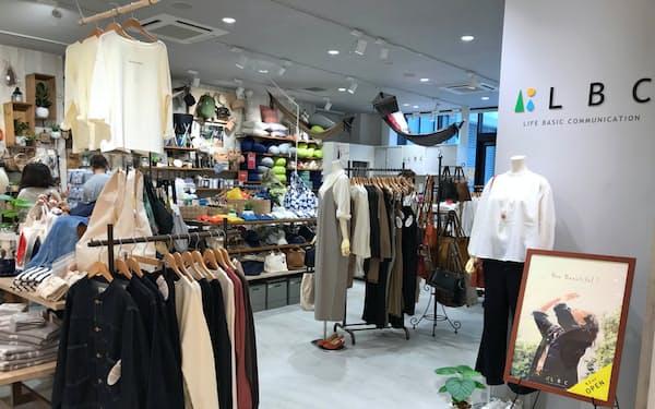 リニューアル1号店となる「LBC グランエミオ所沢店」(1日、埼玉県所沢市)