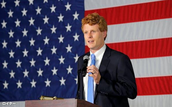 ケネディ氏は民主党上院予備選で敗れた(1日、マサチューセッツ州)=ロイター