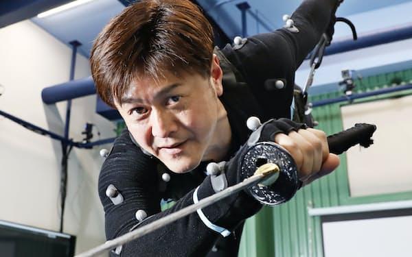 古賀さんは日本初となるモーションアクターの育成機関を名古屋市内に立ち上げる