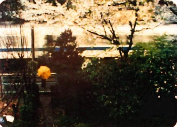 安藤紘平「通り過ぎる電車のように2(ローマ数字)」(1979年)