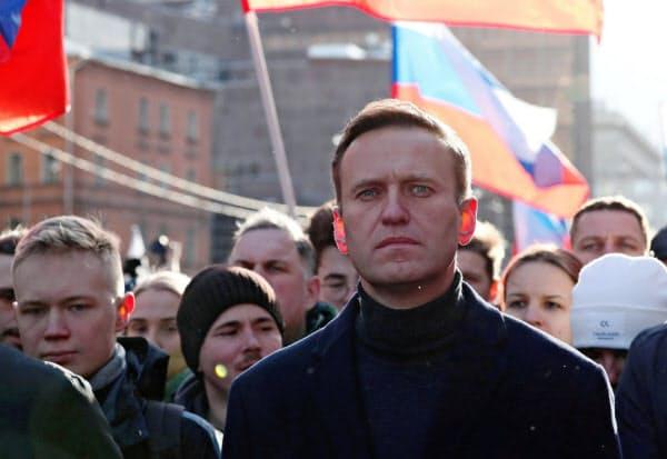神経剤ノビチョクで襲われたロシアの反体制派指導者、ナワリヌイ氏=ロイター