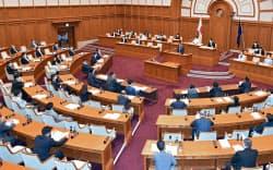 都構想が実現すれば、大阪市議会は廃止され4つの特別区議会ができる