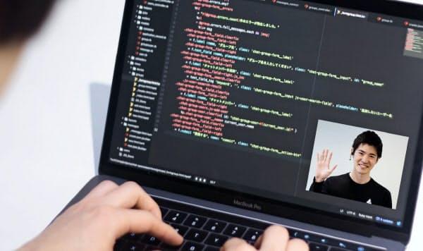 divが開くプログラミングスクールには新型コロナ下で受講の問い合わせが増えた(同社提供)