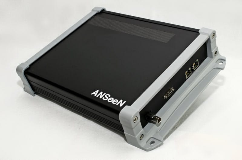 ANSeeNが量産を始めるX線センサー。製造業の非破壊検査などに活用を見込む