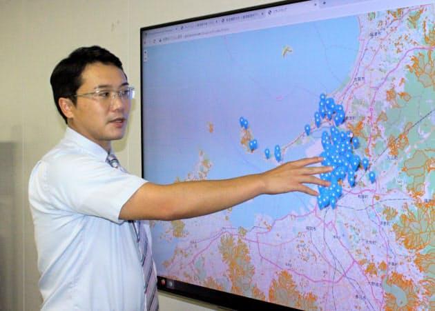 災害対策本部をクラウド化、福岡工大の石田研究室開発