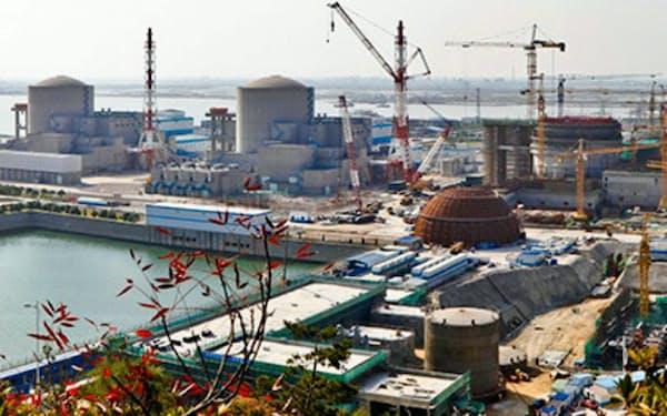 国務院から2期の建設許可を得た海南昌江原発(同社サイトから)