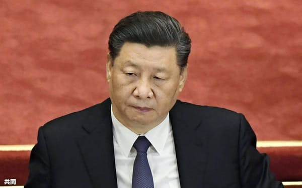 習近平国家主席は5年ぶりに式典に出席したものの演説は見送った。