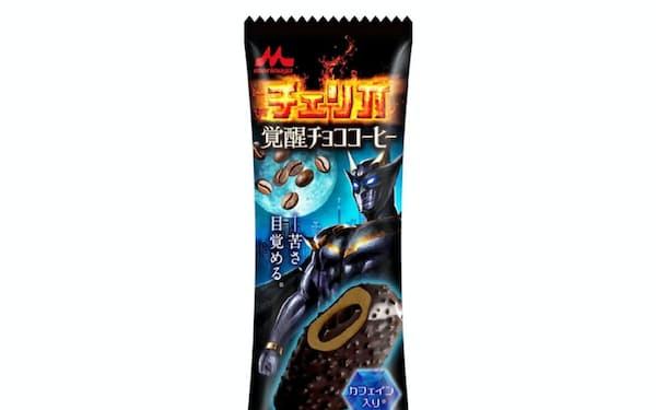 森永乳業はコーヒー味のカフェイン入りアイスを14日に発売する