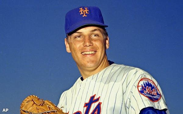 大リーグで投手として通算300超の勝利を記録したトム・シーバーさんが死去した=AP