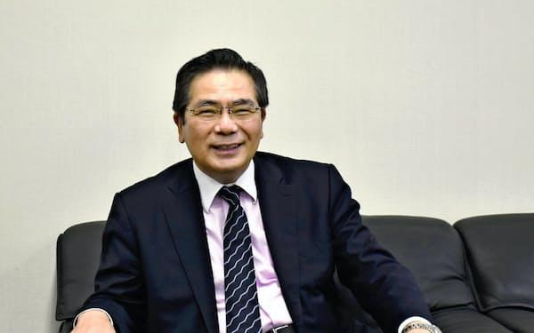 産業技術総合研究所の石村和彦理事長