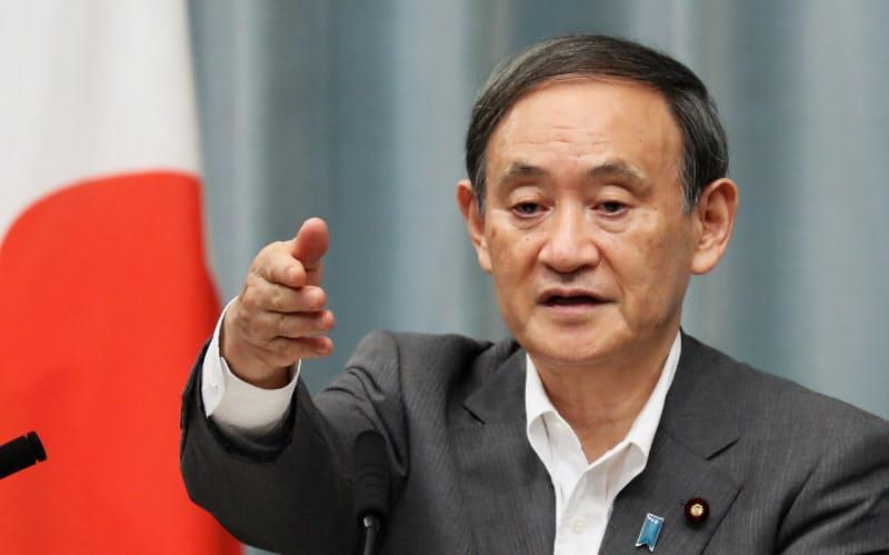 菅氏は2009年に古賀派を退会してからは無派閥を通してきた
