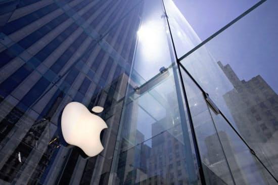 アップルは自社製品上のプライバシー保護を強化している=AP