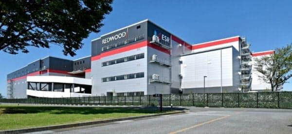 アマゾンが8月26日に開設した埼玉県久喜市の物流施設