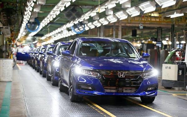 GMが弱い小型車の開発をホンダが担う可能性がある(オハイオ州の完成車工場)