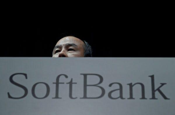 ソフトバンクグループが米株式市場で存在感を高めている=ロイター