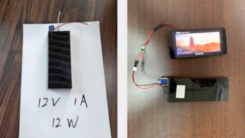 トリチウム電池はモバイルバッテリーやアウトドア用品などへの実用化が期待されている(紫電能源提供)