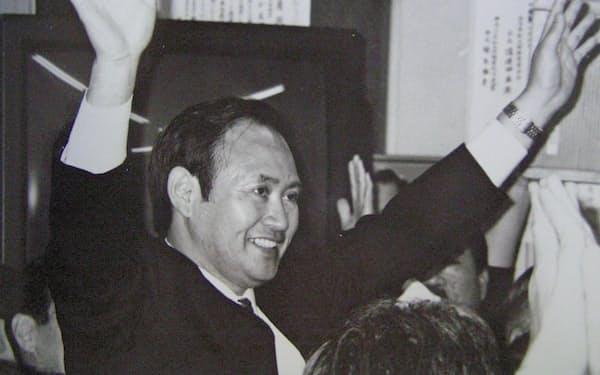 1996年に衆院議員に初当選した