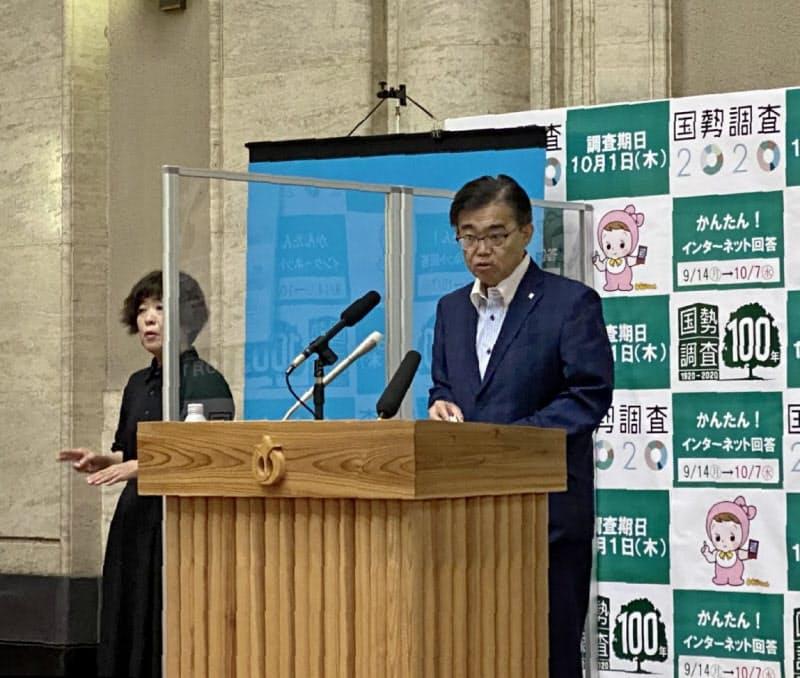 大村秀章知事は7日、今秋から仏インシアードと名古屋商科大と連携して人材育成事業を始めると発表した(名古屋市)