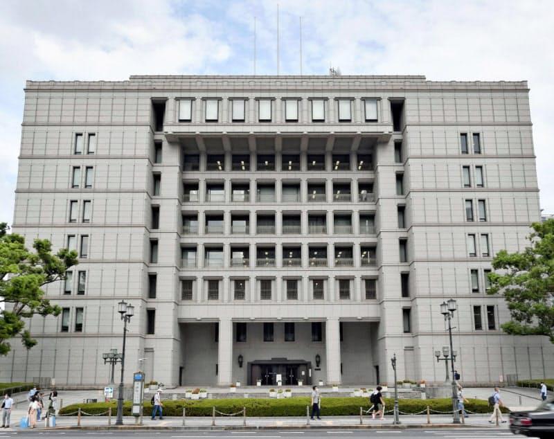 存廃が問われる大阪市役所