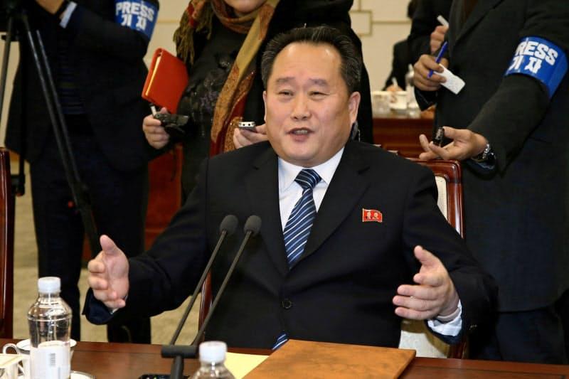 ARFへの参加を見送る北朝鮮の李善権外相=ロイター