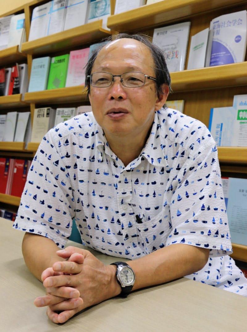 岐阜大学地域科学部 富樫幸一教授