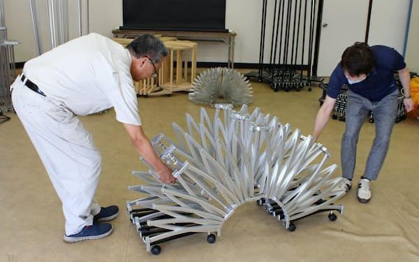 不二宮製作所は伸縮自在の構造物の量産へ副業人材を活用する(熊本県荒尾市)