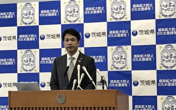 大井川知事は「この1~2週間で感染は落ち着き始めた」との見方を示した