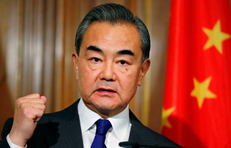 中国の王毅外相=ロイター